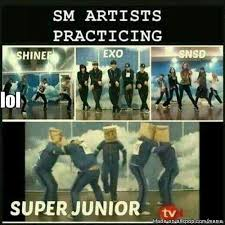 Sm Meme - sm artists practicing xd source allkpop com meme sm artists