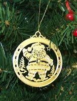 personalized peace high polished brass custom ornament