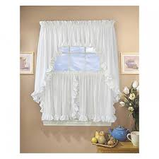 Cape Cod Curtains Cape Cod White Ruffled Curtains And Valances