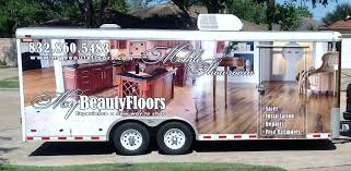 a new way to for all your flooring needs beauty floors present the first mobile showroom where the show room comes to you