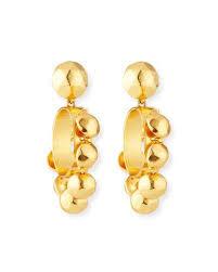 hoop clip on earrings oscar de la renta jewelry accessories at neiman