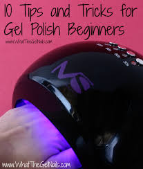 10 tips and tricks for gel polish beginners nails pinterest