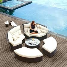 all weather daybed image of all weather wicker patio furniture