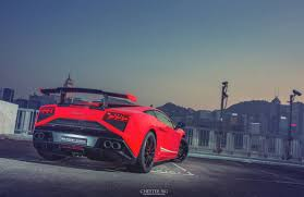 Lamborghini Gallardo Red - red lamborghini gallardo lp570 4 squadra corse in hong kong gtspirit