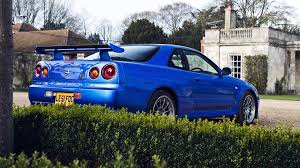 nissan r34 paul walker photo collection 1920x1080 blue nissan skyline