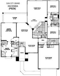 Model Home Floor Plans Trilogy At Vistancia Tarragona Floor Plan Model Home Floor Plans