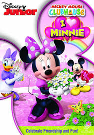 amazon mickey mouse clubhouse heart minnie dvd retro