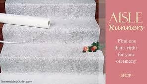wedding aisle runner wedding rumors