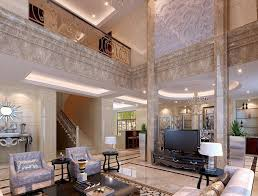 High Ceiling Living Room Designs by Brilliant Luxury Interior Design With Nice High Ceiling And Luxury