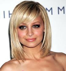 pictures of medium length bob hairstyles shoulder length bob with bangs image of bob hairstyles bangs new