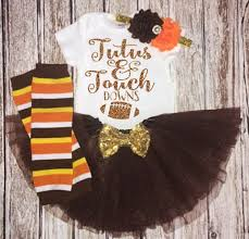 thanksgiving tutu baby thanksgiving football