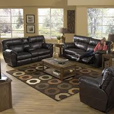 Leather Recliner Chair With Cup Holder Power Extra Wide Reclining Console Loveseat With Storage And Cup