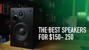 Best Bookshelf Speakers For Tv Buyers Guide The Best Speakers For Under 150 250 Youtube