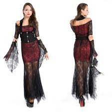 Female Vampire Halloween Costumes Shop 1pcs Free Size Makeup Party Female Vampire
