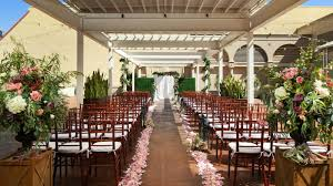 outdoor wedding venues san diego san diego wedding venue the westin gasl quarter hotel