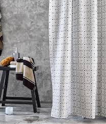 Bathroom Decor Shower Curtains Trending In Bathroom Decor 50 Shades Of Grey Shower Curtains