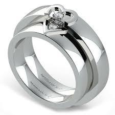 platinum wedding ring sets matching split wedding ring set in platinum