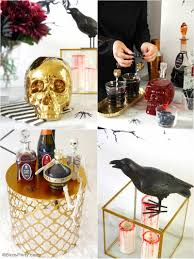 creepy n u0027 chic halloween cocktail party ideas party ideas