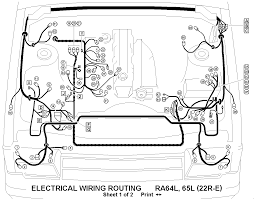 22re fuel injection wiring diagram 22re wiring diagrams
