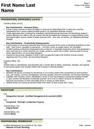 cfo resume exles chief financial officer resume sle template