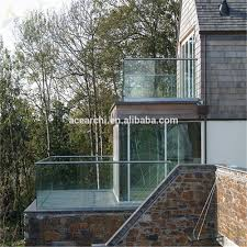 Indoor Balcony by Balcony Glass Railing Balcony Glass Railing Suppliers And