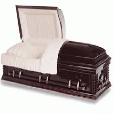 casket for sale kensington mahogany casket ems funeral solutions