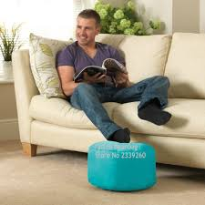 Bean Bag Chair With Ottoman Aliexpress Com Buy Cover Only No Filler Dark Grey Bean Bag