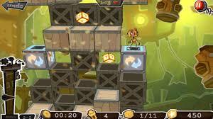robo5 dark dingy puzzles darker version wall