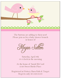 baby shower invites for girl birdie baby shower invitations sweet paperie