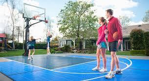 Basketball Court In The Backyard Backyard Basketball Court Home Sport Court Sport Court South