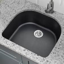 25 x 22 quartz single bowl kitchen sink
