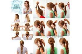 anna from frozen hairstyle anna frozen hair tutorial foto video
