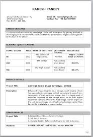 cv format for freshers mechanical engineers pdf resume format for freshers mechanical engineer resume template for
