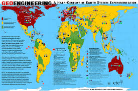 World Map Large by The World Of Geoengineering Etc Group
