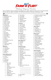 wedding registry money wedding wedding registry ideas checklist printable belk