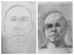 before u0026 after student drawings u2014 drawing on the right side of the