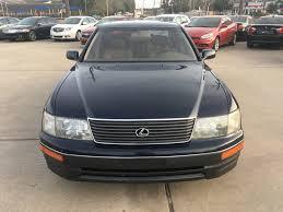 lexus gs300 for sale houston texas 1995 used lexus ls 400 at car guys serving houston tx iid 16066803