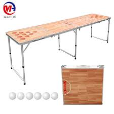 beer pong table size cm beer pong table customized beer die tables with printing factory