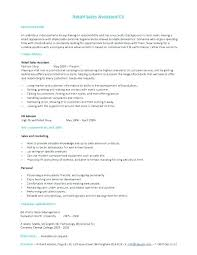 Retail Assistant Manager Resume 100 Retail Assistant Manager Resume Exles 11 Amazing