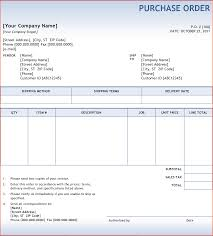 6 purchase order sample bookletemplate org