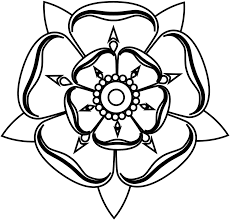 tudor rose coloring page kids drawing and coloring pages marisa
