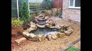 Garden Waterfall Ideas Great Garden Waterfall Design Images Landscaping Ideas For
