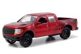 Raptor Ford Truck 2011 - jada toys just trucks 1 32 scale diecast 2011 ford f 150 svt