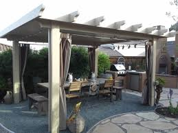 free standing patio contemporary with modern transitional spot lights
