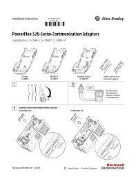 rockwell automation 25 comm e2p powerflex 520 series communication