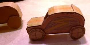 membuat miniatur mobil dari kardus sayang anak ajari bikin mobil mainan dari kardus bintangtop com