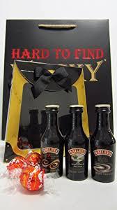 baileys gift set whisky liqueurs baileys 3 x miniatures chocolate gift set