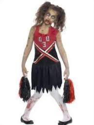 Kids Cheerleader Halloween Costume Kids Zombie Cheerleader Halloween Costumes Photo Album Kids