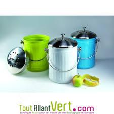 acheter poubelle cuisine poubelle à compost anti odeur pour cuisine 4 litres achat vente