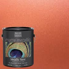 Interior Paint Colors Home Depot by Modern Masters 1 Gal Copper Metallic Interior Paint Mm195gal